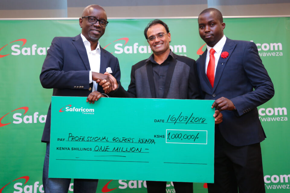 Safaricom PGK Dummy Cheque Photo March 2018