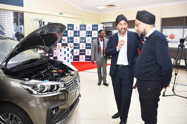 Toyota Kenya introduces the all-new Suzuki Ertiga